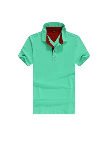 淺綠商務T恤