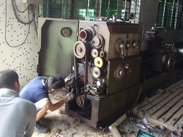 东莞长沙金嶺CW6163C车床维修
