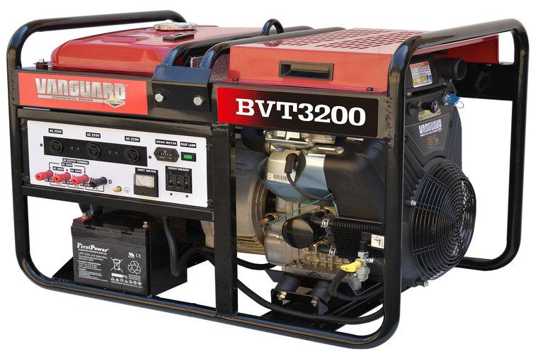 百力通BVT3200 15kW380V汽油发电机