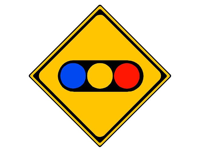 信号灯标识