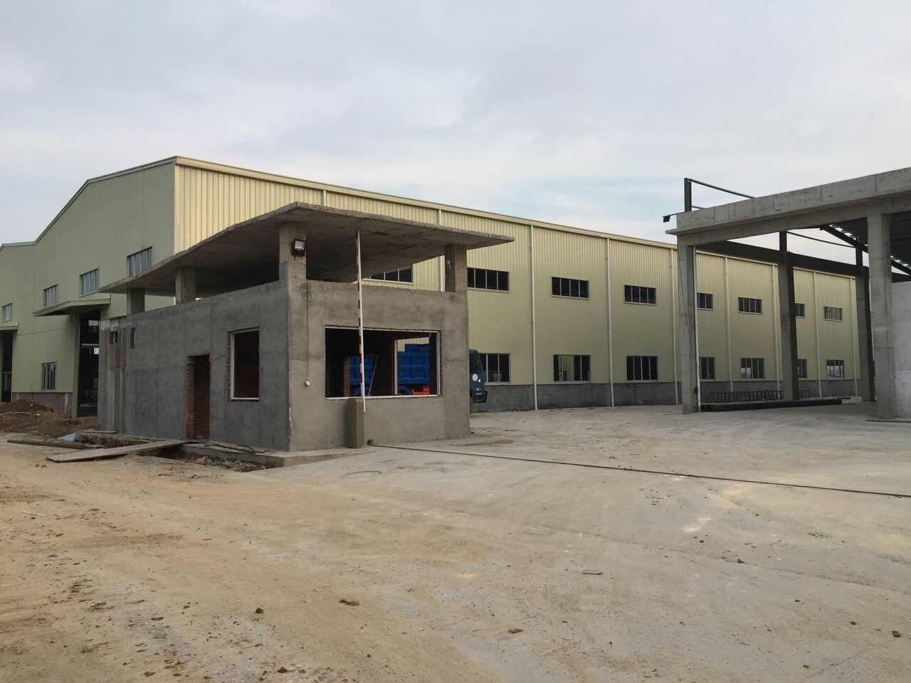 寮步石步全新单一层钢结构6500平方带牛角厂房出租