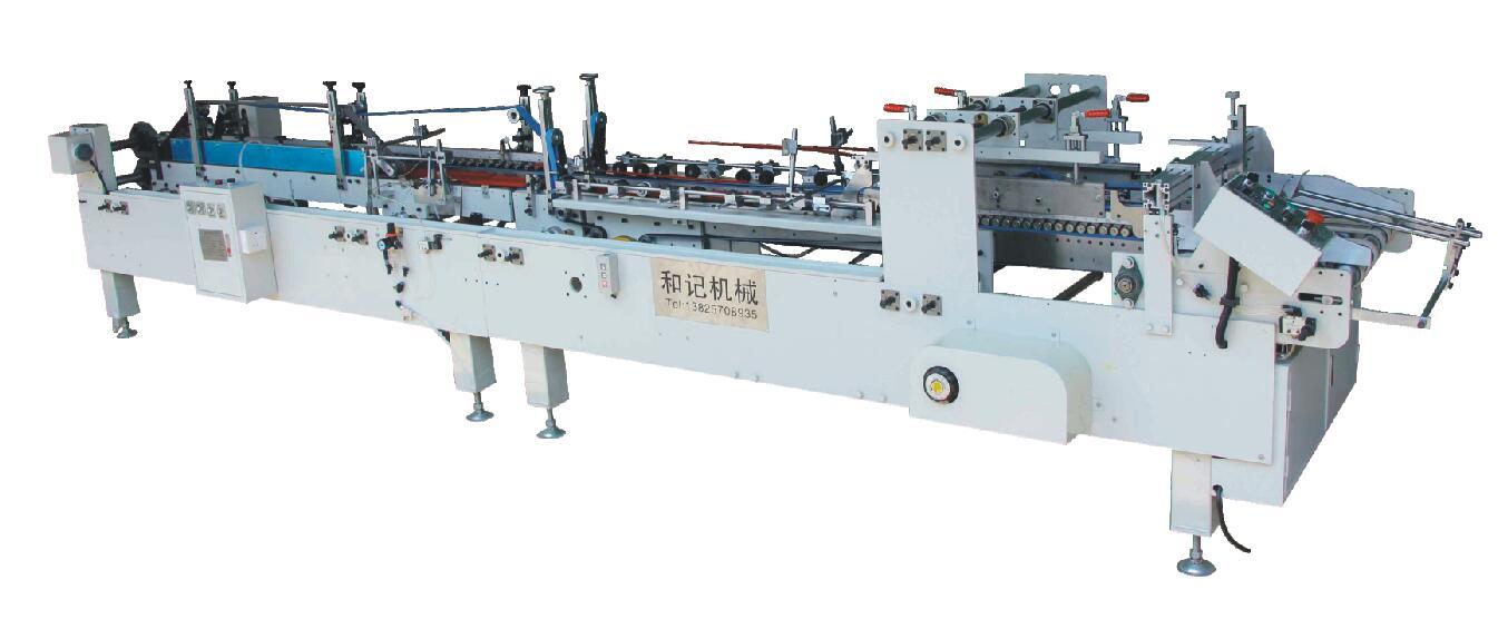 专业生产pp折边粘盒机 塑料包装全自动胶盒机 pet胶盒折边粘盒机