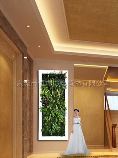 室内精品仿真植物墙
