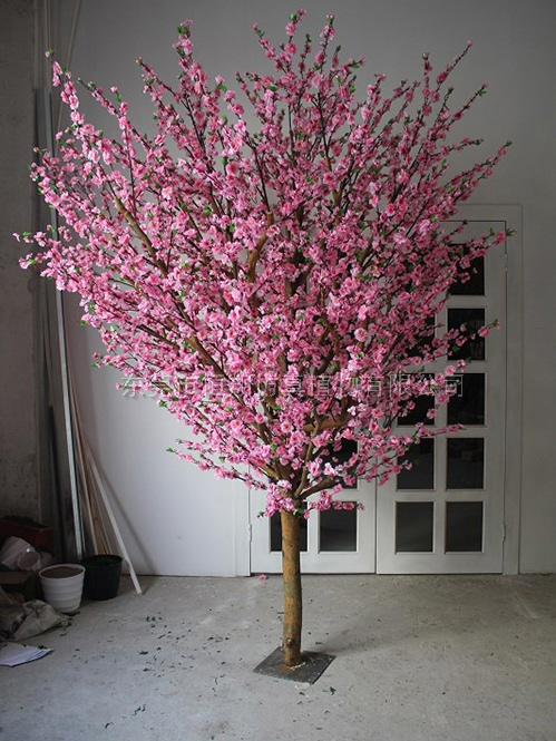 HX8081-2仿真桃花树