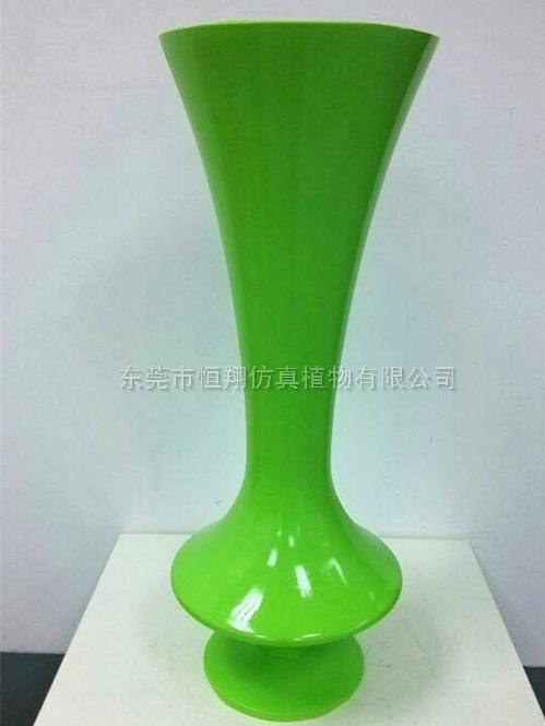 绿色高花瓶