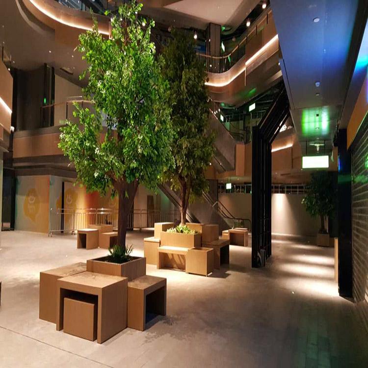 北京仿真树哪里有_恒翔_桫椤树_桃花_造型树_玻璃钢_梨花_景观