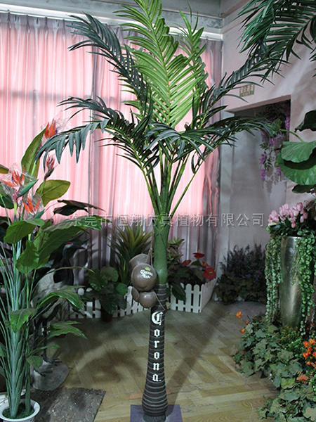 HX8026-迷你仿真椰子树