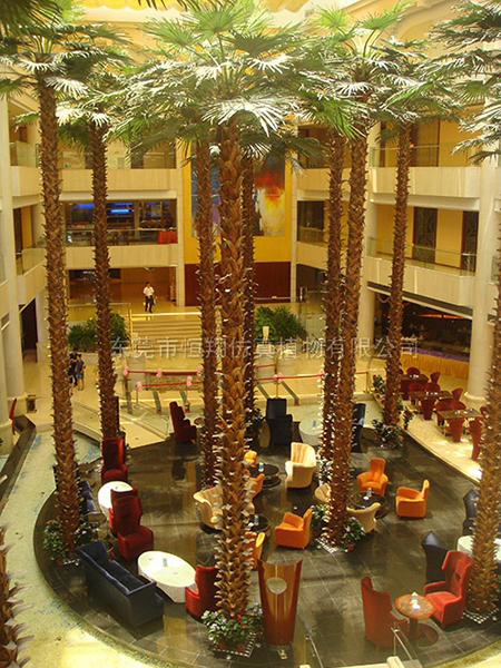 HX8032-12米保鮮仿真棕櫚樹