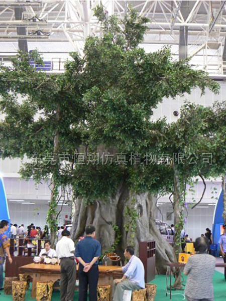HX80411包住仿真榕树