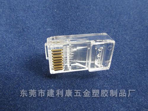 6P电话水晶头生产