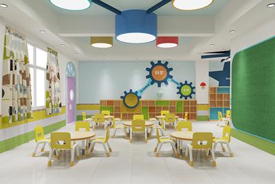 幼儿园室内外空间环境设计