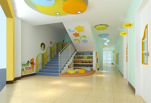 幼儿园设计-楼梯设计