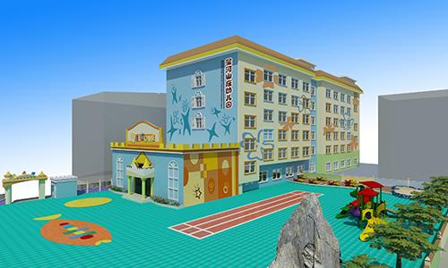 幼儿园外观设计布置-深圳市云磊艺术装饰有限公司-企