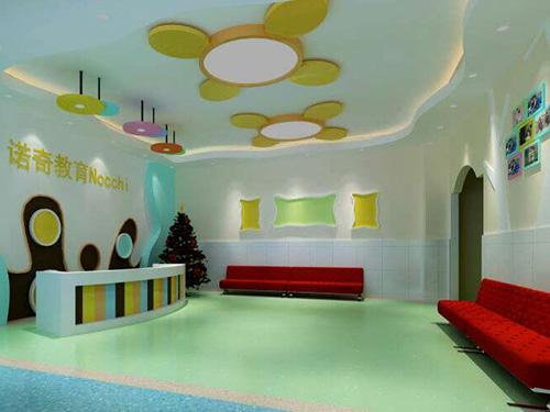 幼儿园装修设计-大厅