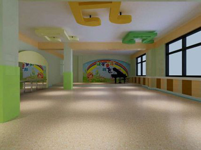 幼儿园装修设计-舞蹈厅
