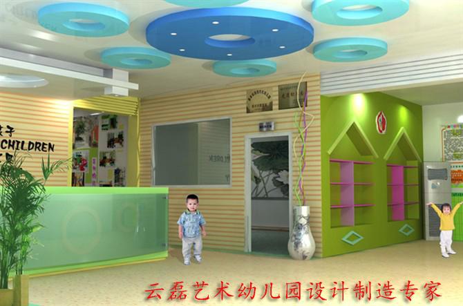 幼儿园大厅案例|深圳市云磊艺术装饰有限公司