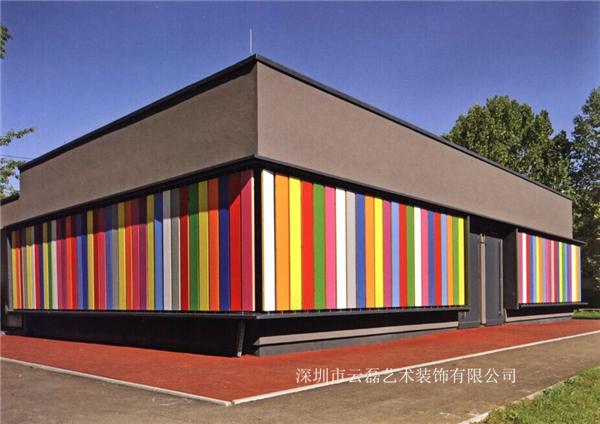 独特墙面的幼儿园设计