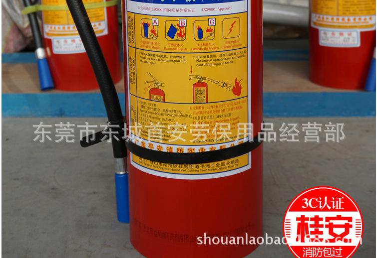 东莞直销桂安手提式干粉灭火器消防器材 2kg/3kg/4kg/5kg/30KG
