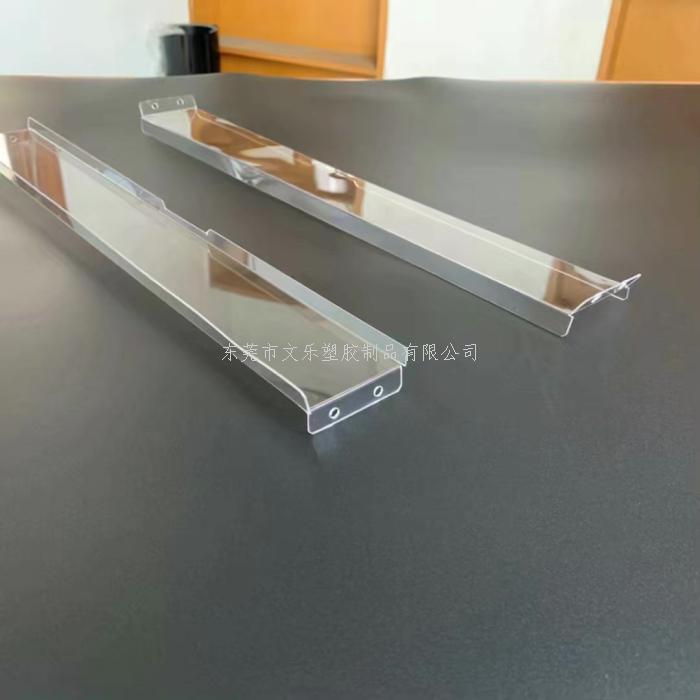 1MM透明PC精雕熱彎加工