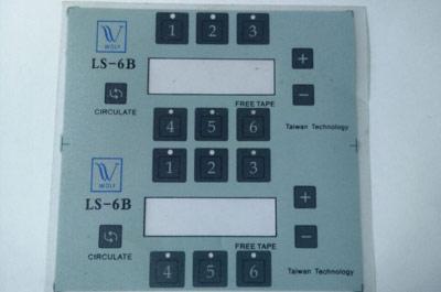 机械触摸按键标牌