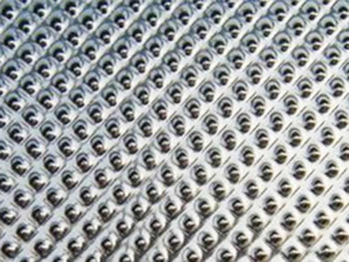 钻石纹压花铝