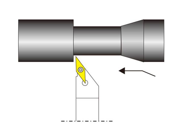 外圓車削刀桿SVABR/L..N型