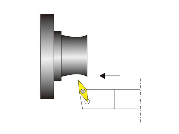 外圓車削刀桿SVHBR/L..N型