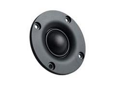 黑色高音扬声器