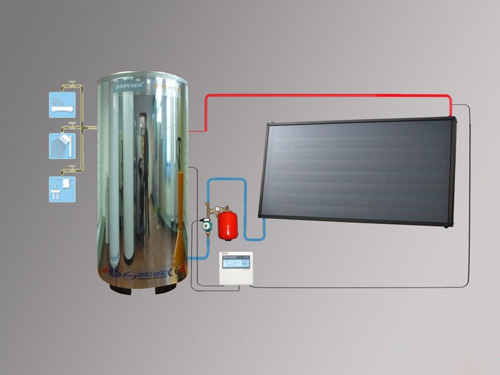 150L阳台壁挂热水器