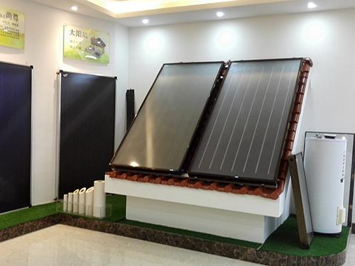 分体平板太阳能热水器(100-500L)