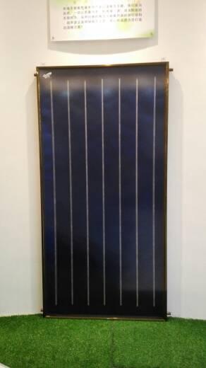 蓝膜集热板 平板太阳能集热器 太阳能热水器