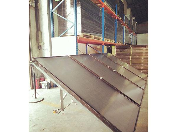 太阳能热水工程防台风支架 热水工程支架 热镀锌支架