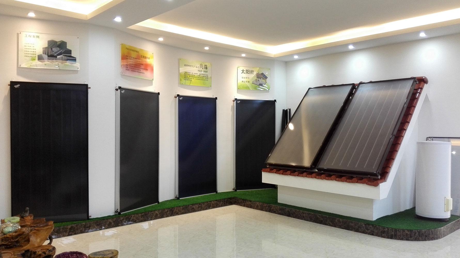 阳极氧化集热器 平板太阳能 太阳能集热板