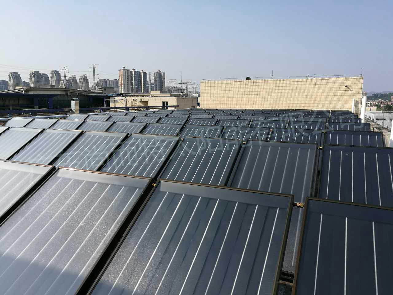 平板太阳能 太阳能热水器 太阳能热水工程板