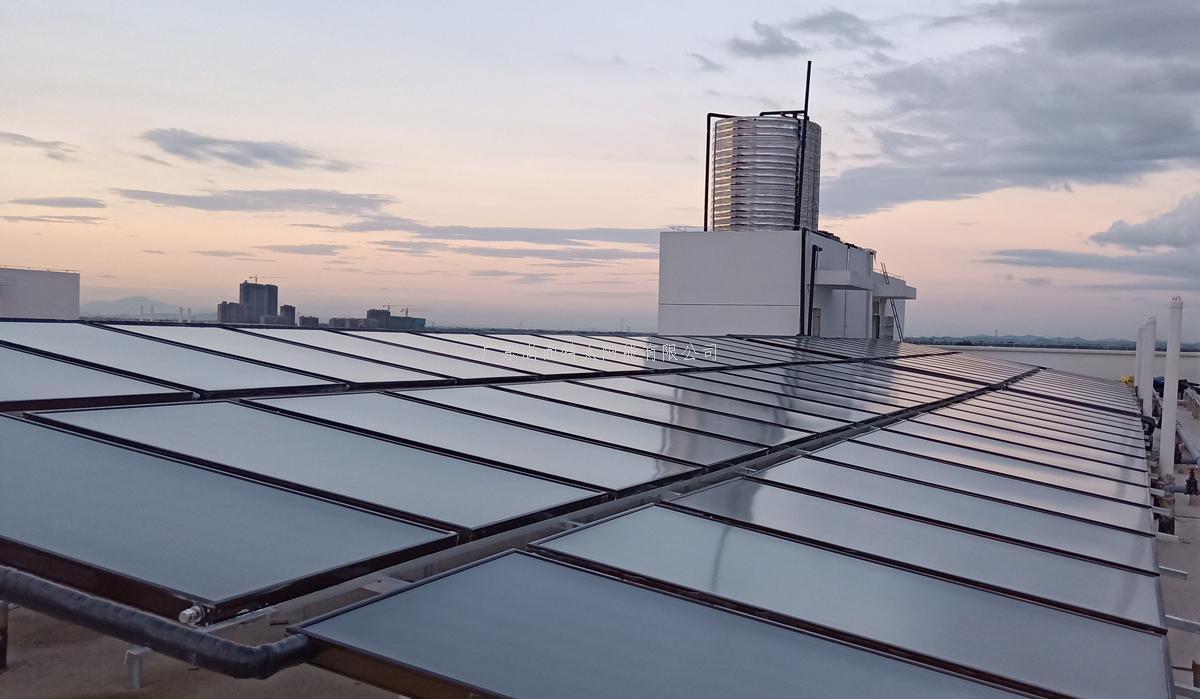 甘肅白银酒店太阳能热水