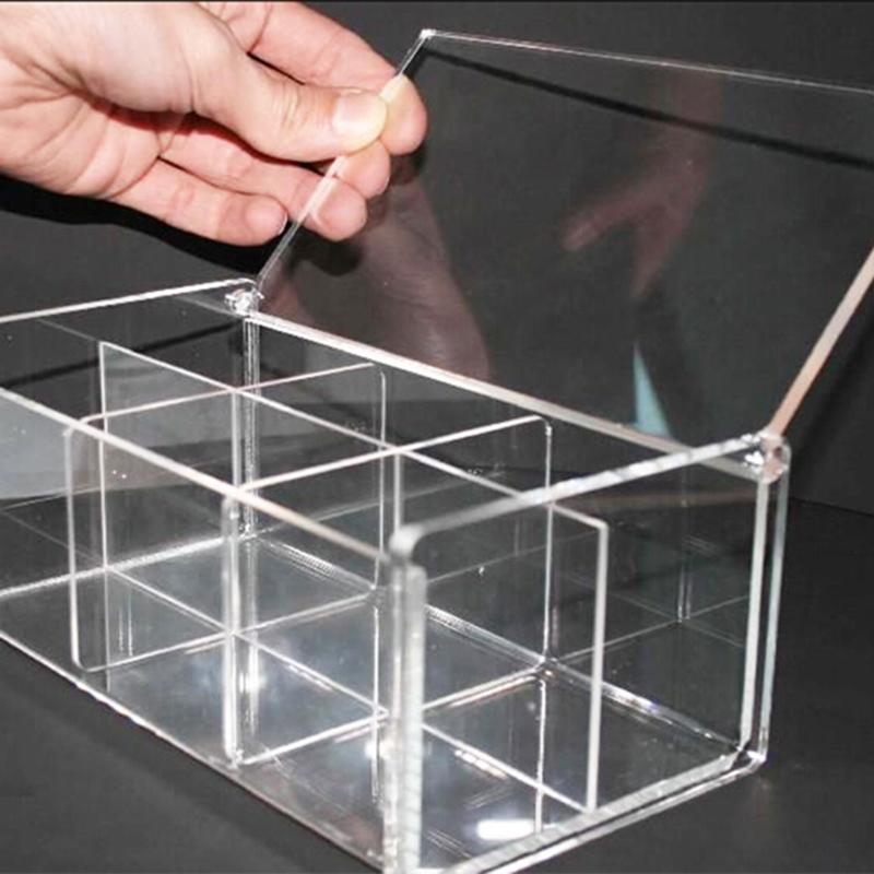 透明亞克力展示架_順澤有機玻璃_彩色_加硬_高品質_高透明_雙層