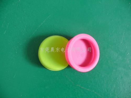 圆形硅胶抽屉拉手