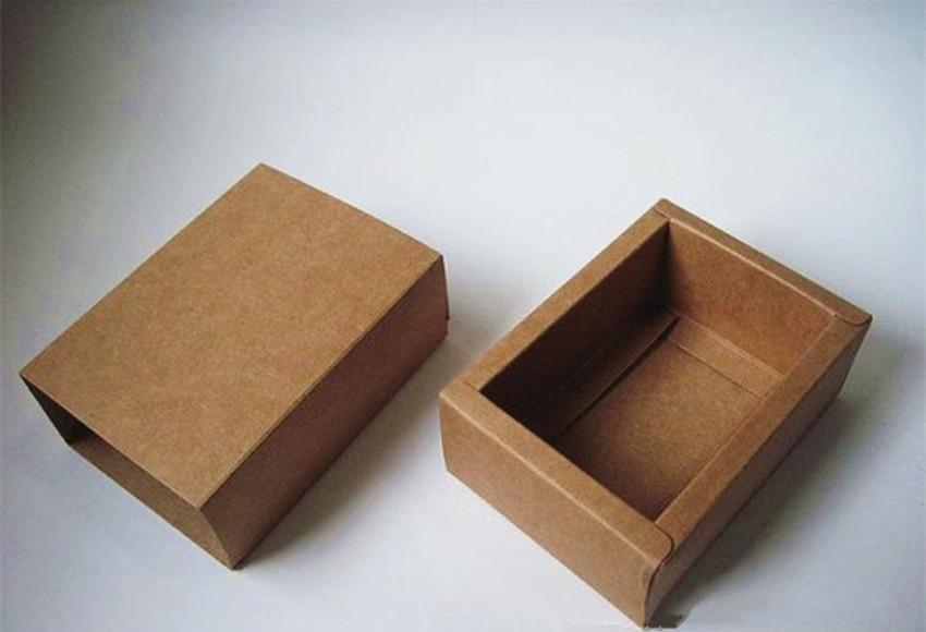 牛皮纸天地盒订做