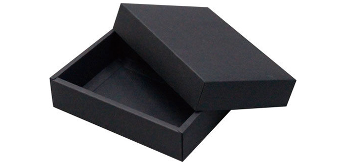 黑卡包装盒 天地盖盒