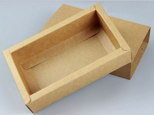 牛皮纸抽屉盒厂家定制