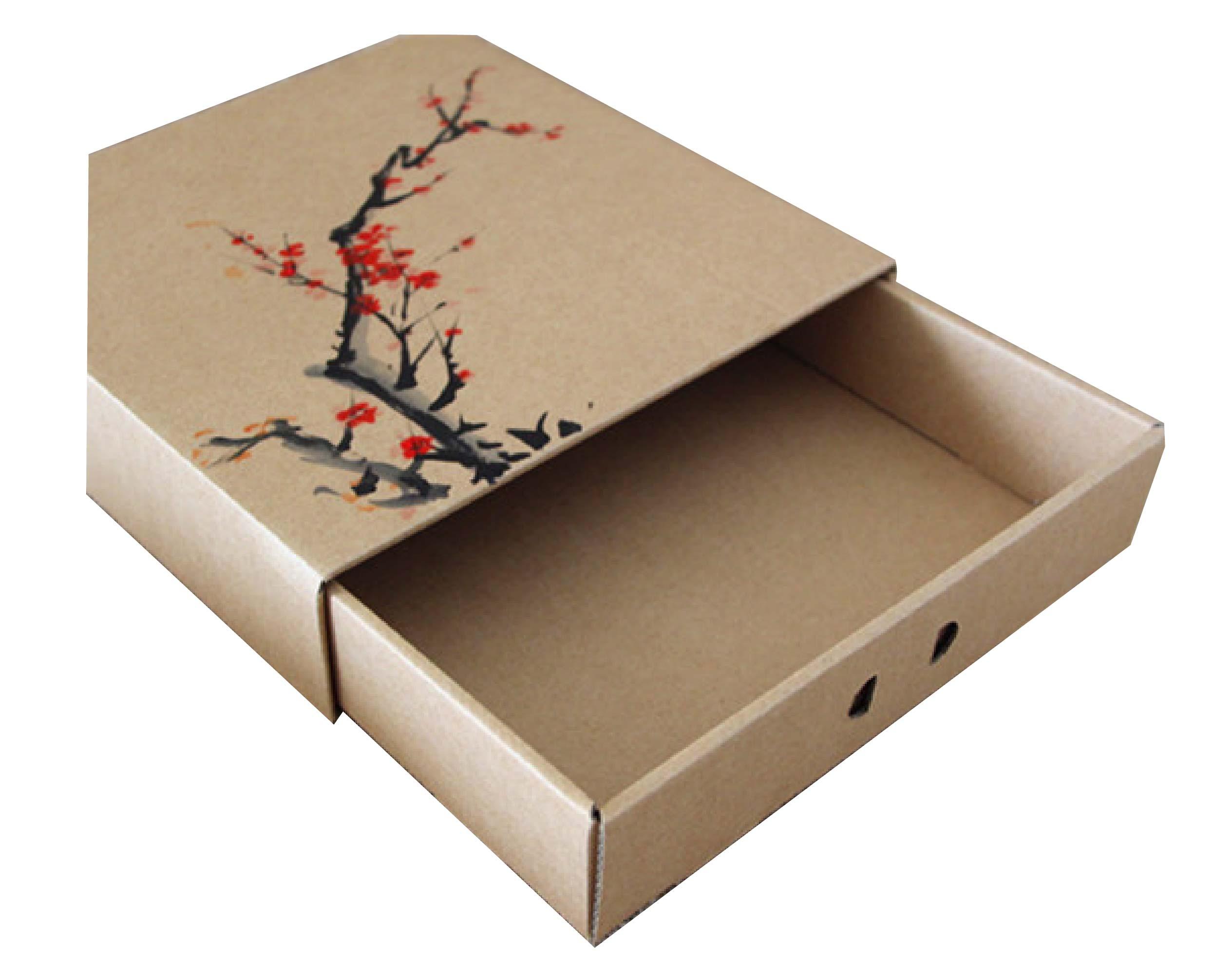 创意牛皮纸包装盒印刷