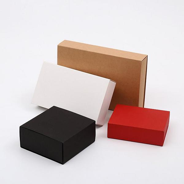 黑卡抽屉盒 牛皮纸抽屉盒印刷