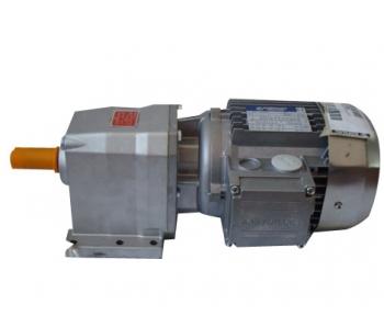 同轴斜齿轮减速电机与减速机具有高转矩,产品多样化,速比范围广,结构