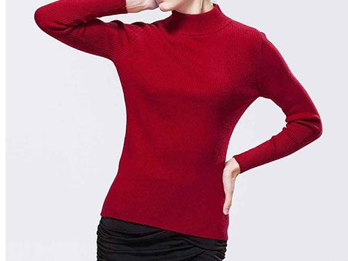 休閑毛衣生產_井水服飾_時尚_女款_紫色_白色圓領_黑色_開衫
