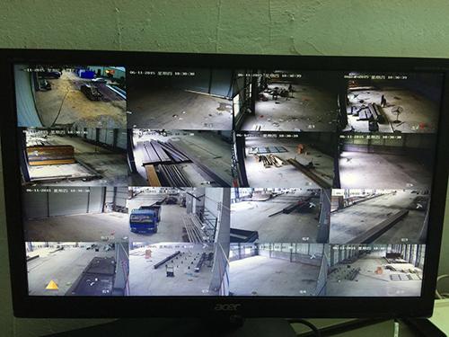 施工监控摄像头 接线方式