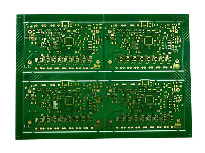 多层半孔工控线路板