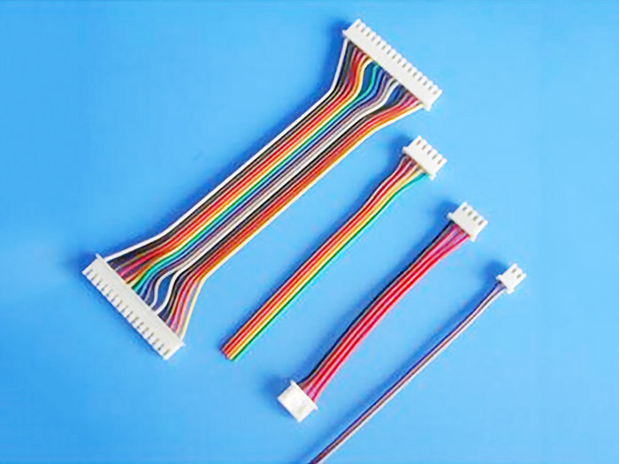 JST公母对接端子连接线XH2.54公母空中对接软排线优质服务
