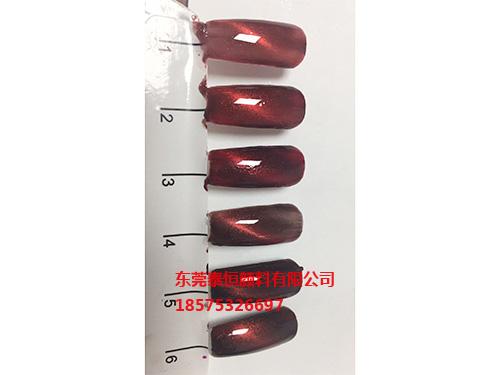 磁性中國紅色