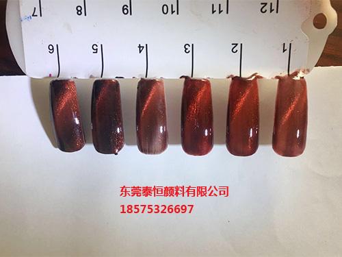 磁性中国红指甲