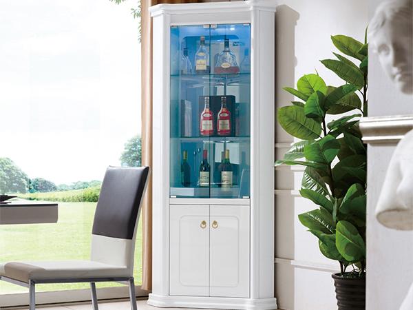 实木玻璃酒柜